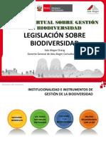 Legislación Biodiversidad - Ada Alegre