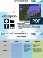 Winter Weather Advisory 11-11-2019