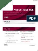 Auditing Agile in Agile Time Presentation - Handout Slides