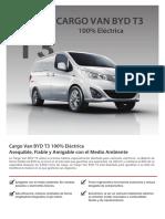 Cargo Van Electrica T3 BYD