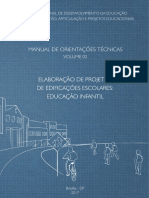 FNDE - Elaboracao de Projetos Ed. Escolares - Ed. Infantil