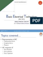 L15- AC Representation & Response