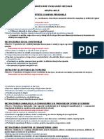1. Planificarea Evaluare Inițială Grupa Mică