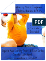 Dossier Clases y Talleres Musica en Pañales y Musica Temprana