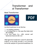 ideal and practical transformer.docx