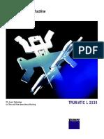 Trumatic L 2530 TRUMPF Brochure