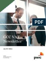 Gcc Vat Newsletter July 2019