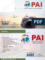 Programa de apoyo a la internacionalización