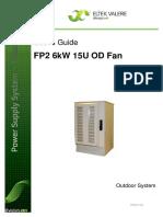 Flatpack2 6KW 48V 15U OD, Fan&Filter