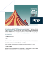 Bases concurso circo