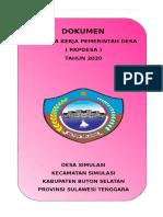 1. COVER RKP DESA 2020.doc