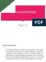 Equipo 2 Hipersensibilidad Tipo I y II