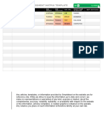 IC Construction Risk Assessment Matrix Template 8849