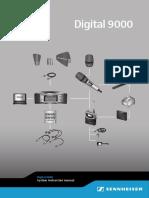Sennheiser Digital 9000 System Manual 2017 EN