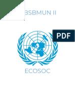 jrbsbmun ii - ecosoc study guide