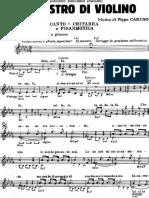 Domenico Modugno - Il Maestro Di Violino