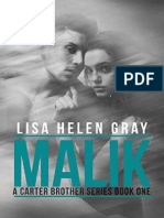 Lisa Helen Gray - Carter Brothers 1 - MALIK