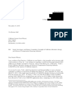 Letter to California State Senator Scott Wiener Regarding Oversight of CAEATFA