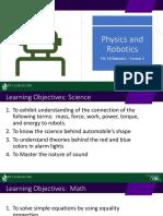 Physics and Robotics