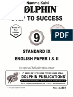 Namma Kalvi 9th English Unit 1 Dolphin English Guide