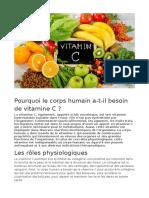 Vitamina C ( în limba franceză)