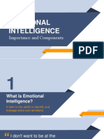 Presentation on Emotional intelligence