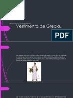 Vestimenta de Grecia Galvez