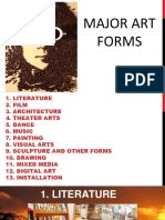 Major Art Forms