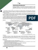 Proposta de Redação ENEM 2014