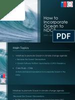 Ocean - Chile. COP24