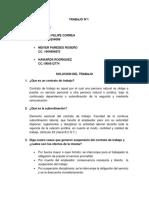 Subordinacion Laboral Taller (3312)