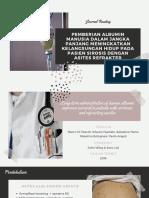 PPT Journal Reading Asites Refraktori - Adela Widi Etania