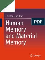 Memória humana e memória material