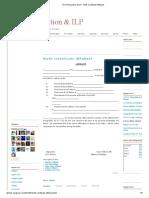 TCS Preparation & ILP _ Birth Certificate Affidavit