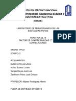 Practica-10 Termodinamica de las sustancias puras
