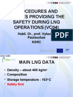 Procedures Devices of LNG Operations Tallinn