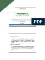 Presentación Curso Técnicos y Obreros Ambiente de Estudio