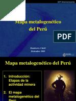 Mapa Metalogenético Del Perú
