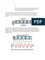 Sound acoustics one pager