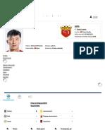 Haowen Li - Profilo Giocatore 2019 _ Transfermarkt