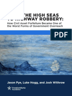 From High Seas to Highway Robbery