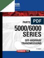 Allison Transmission 5000-6000 Series Parts Catalog
