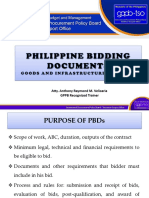 03 PBDs for Goods and Infra Projects