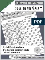 MondoLinguo Preferences