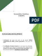 Sustainability Guidelines 1