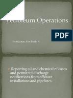 Petroleum Operations