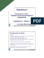 Análise de funcionamento e aplicações do diodo