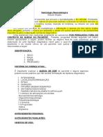 Roteiro Para Estudo Semio Reumatologia