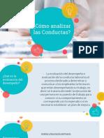 Analizar Conductas, Competencias Gerenciales Presentacion
