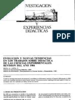 Investigación y experiencias didácticas